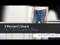 9 Women'S Shorts By Christopher Blue Spring 2017 Collection
