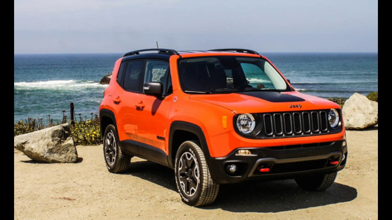 Jeep Renegade Colours
