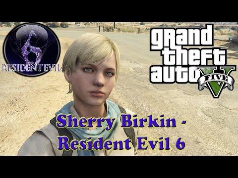 Sherry Birkin Resident Evil 6