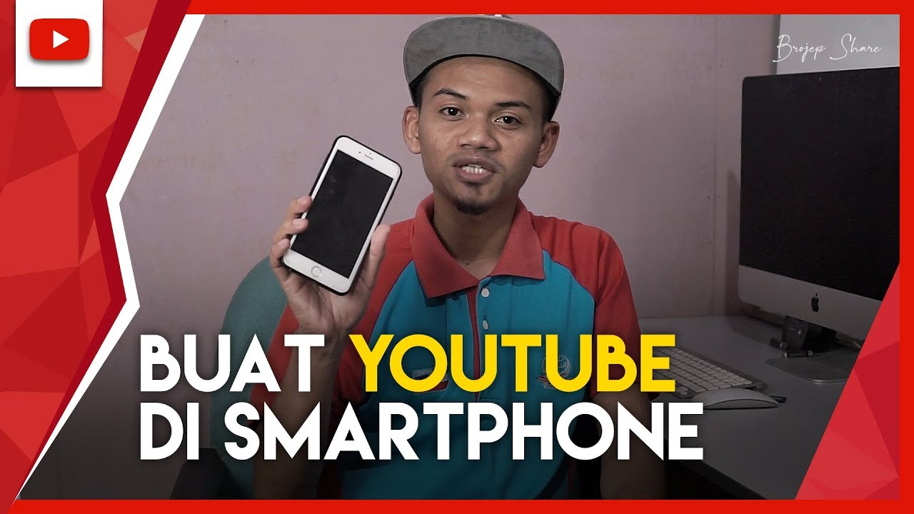 Cara Buat Channel Youtube Di Smartphone Android Ios Tutorial Youtube
