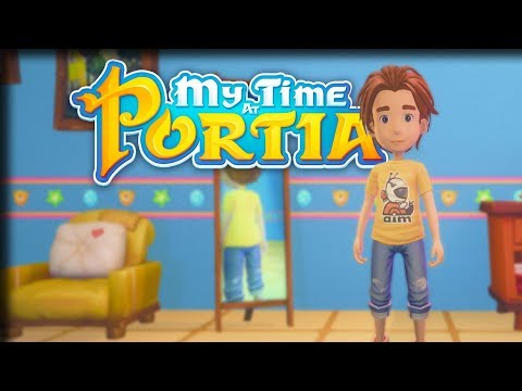 Building License! – My Time at Portia Gameplay – Let's Play Part 1