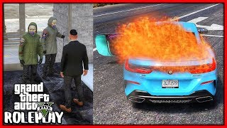Gta 5 Roleplay - Stealing Two Cars From Dealership  Redlinerp 716