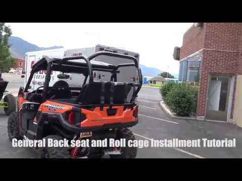 General Back Seat And Roll Cage Kit