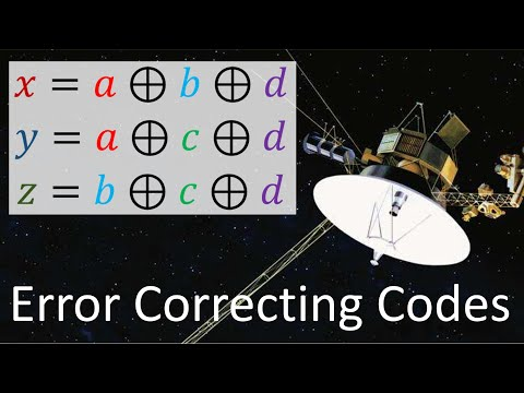 Error Correcting Codes 1: Introduction + Hamming (7,4) Code
