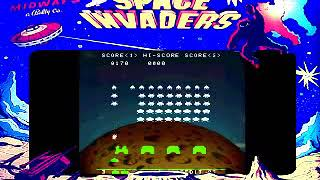 Space Invaders Arcade Taito Midway 1978
