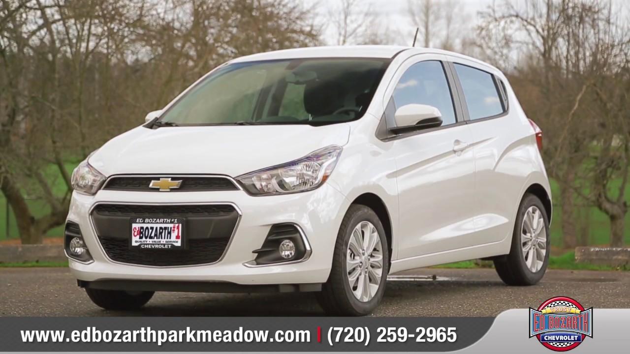 Ed Bozarth Park Meadows >> 2017 Chevrolet Spark Review | Ed Bozarth #1 Park Meadows Chevrolet - YouTube