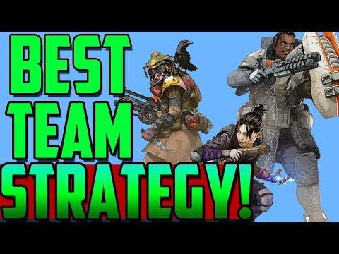 Best Apex Legends Team Strategy! Gameplay Analysis