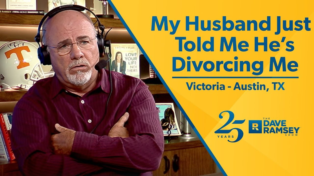 My wife is divorcing me