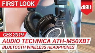 CES 2019: Audio Technica ATH-M50xBT Bluetooth Wireless Headphones | First Look | Digit.in