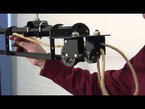 How to assemble a T60 curtain track with overlap and handline