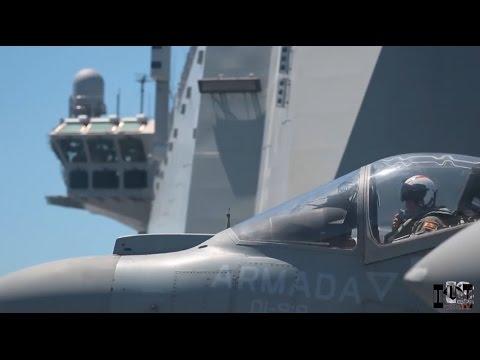 """MICAAL-TV """"Visita al portaaviones Juan Carlos I"""""""