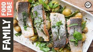 Simple Tray Baked Salmon  Barts Fish Tales