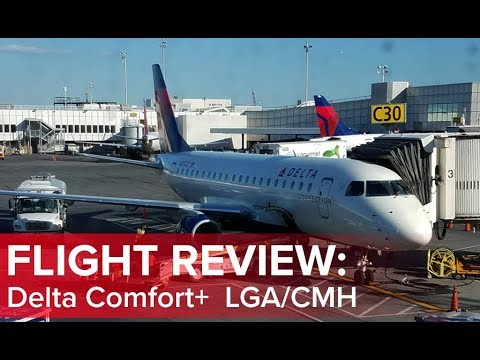 Flight Review: Delta Airlines Comfort+ LaGuardia to Columbus