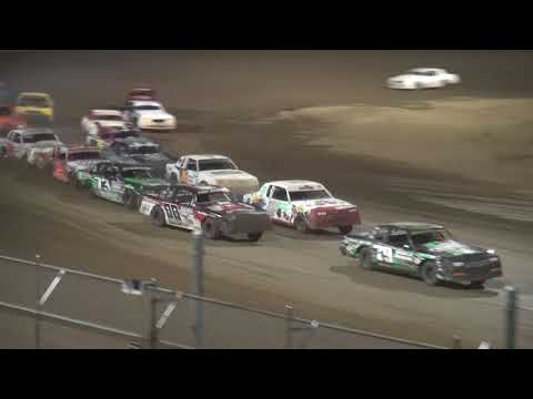 IMCA Hobby Stock Season Championship feature Independence Motor Speedway 8/19/17