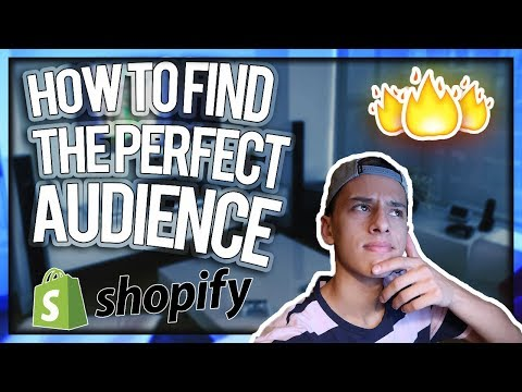 FINDING THE PERFECT AUDIENCE FOR DROPSHIPPING (MUST WATCH)