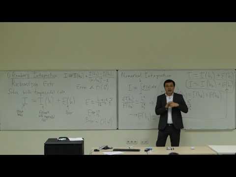 Computational Physics Lecture 21, Romberg Integration and Gauss Quadrature