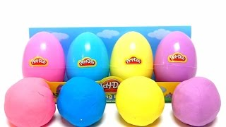 Play-Doh SPRING EASTER EGGS Pack - Filled with Play Doh Compound