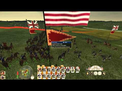 The Battle of Germantown Casimir Pulaski TW Empire mod