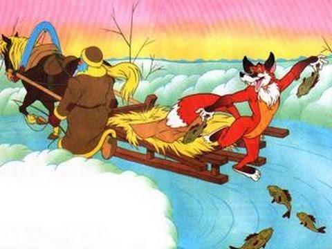 🐺Сказки для детей. Лиса и волк - зимняя сказка для детей