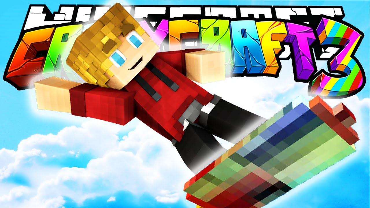 Minecraft crazy craft 3 0 hoverboards in minecraft 11 youtube