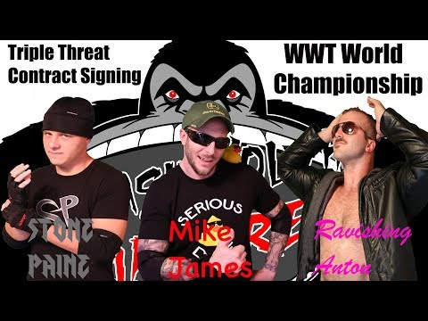 SmashMouth Slamboree WWT Championship Triple Threat Contract Signing