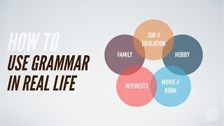 Download Video How To Use Grammar In Real Life MP3 3GP MP4