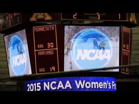 Harvard in the Frozen Four: National Championship vs. University of Minnesota