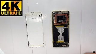 sony Xperia XA - разборка замена разъема зарядки / disassembly replacing the charging connector