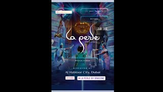 Dubai Visit | La Perle By Dragone. A Must Watch in Dubai | Travel Vlogs