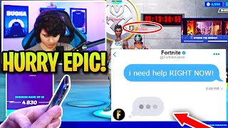 Bugha FORCED to Contact Epic Immediately after TROLLS Grief Every GAME! (Fortnite)