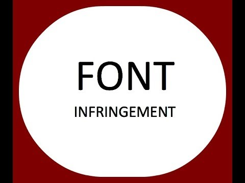 How to svoid FONT Infringement allegations