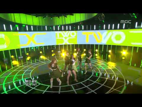 Two X - Double Up, 투엑스 - 더블 업, Music Core 20120825