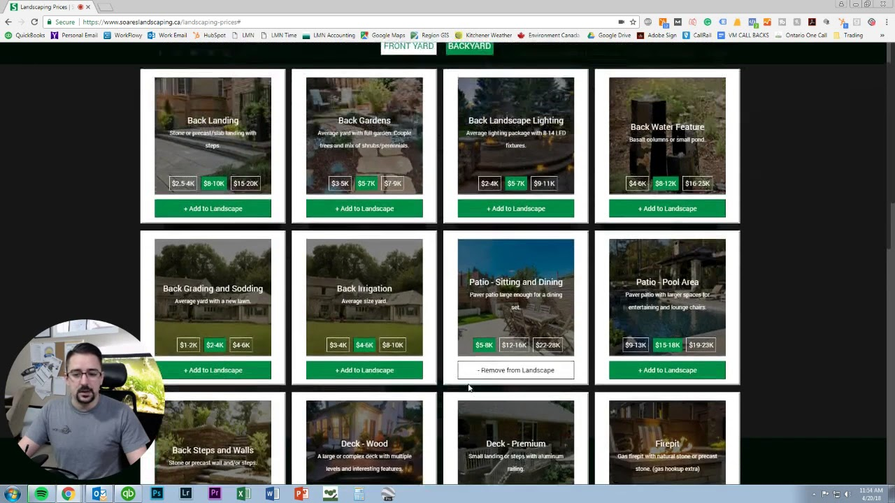 how to use the landscaping pricing calculator youtube