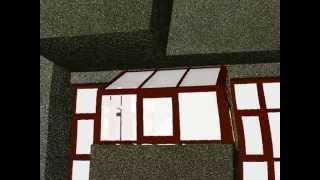 Балкон. 3D визуализация.(, 2012-09-20T22:21:44.000Z)