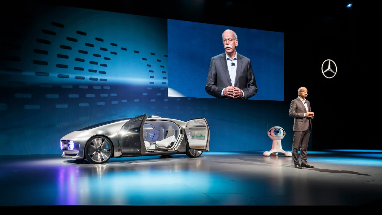 CES Las Vegas 2015 - Mercedes-Benz Keynote - YouTube