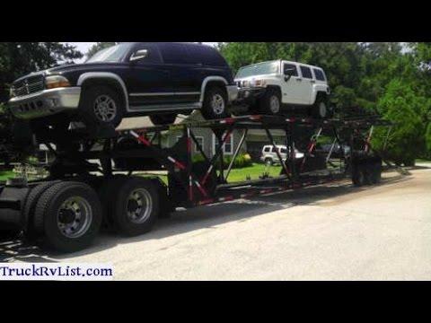 Car Trailer 2004 Kaufman 6 Cars For Sale Youtube