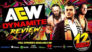 AEW DYNAMITE FULL GEAR FALLOUT!  Full Show Review & Highlights 11/13/19