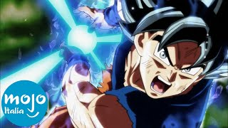 Top 10 VITTORIE più EPICHE di GOKU in DRAGON BALL!