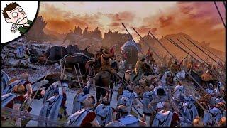 MASSIVE MACEDON SURVIVAL! Ancient Empires Total War (Attila Mod) Gameplay