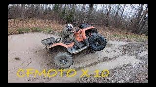 CFMOTO X10 тестируем в грязи. Отзывы владельцев.