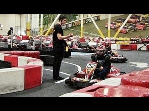 K1 SPEED INDOOR GO KART RACING - ONTARIO, CA - 12/26/2012
