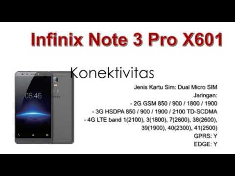 Infinix Note 3 Pro X601 Spesifikasi dan Review