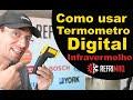 Como usar termômetro digital infravermelho