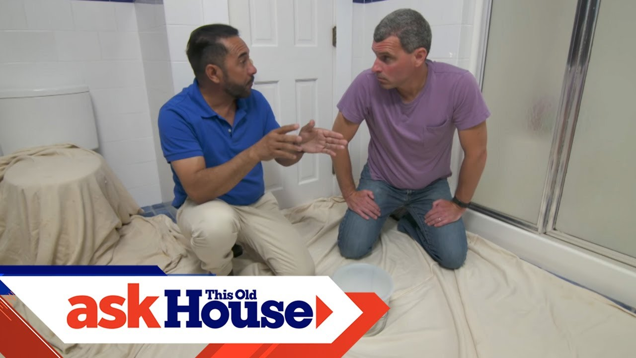 How to Paint a Mold-Resistant Bathroom | Ask This Old ...