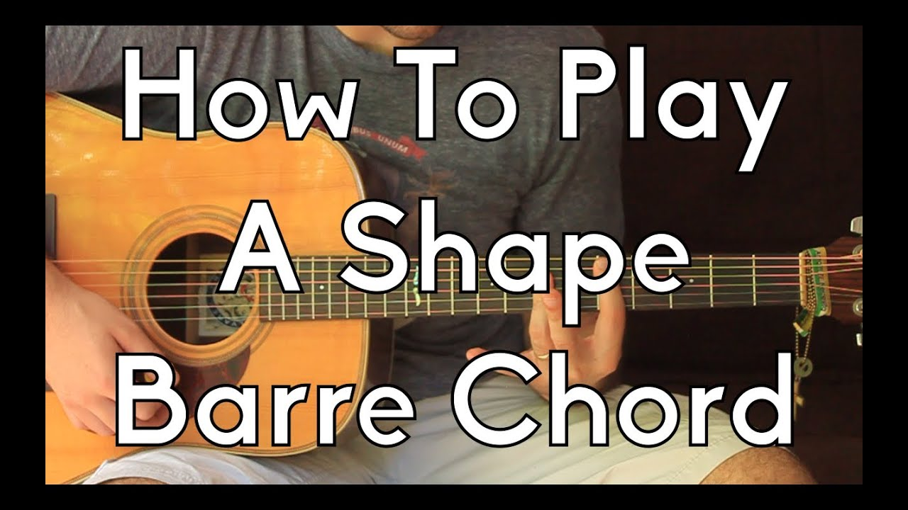 How To Play Bar Chords On Acoustic Guitar Image Collections Basic