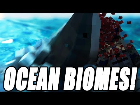 Minecraft Modded Survival  - Ocean Craft Biomes! Let's Play Videos Gameplay