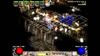 Diablo 2 - Eastern Sun Mod Gameplay (Diablo Morph Set)