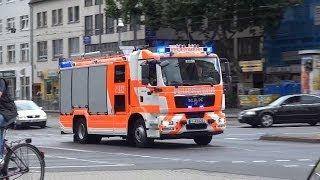 """Bullhorn + Durchsage """"weiter fahren, einfach in die Kreuzung fahren"""" BF Frankfurt BLW2 + BLW4"""