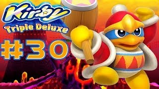 Kirby: Triple Deluxe 3DS - 100% Walkthrough Part 30 Dedede Tour Level 6 (1/2) [HD]