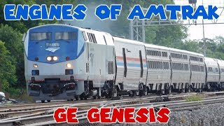 Engines of Amtrak - GE Genesis